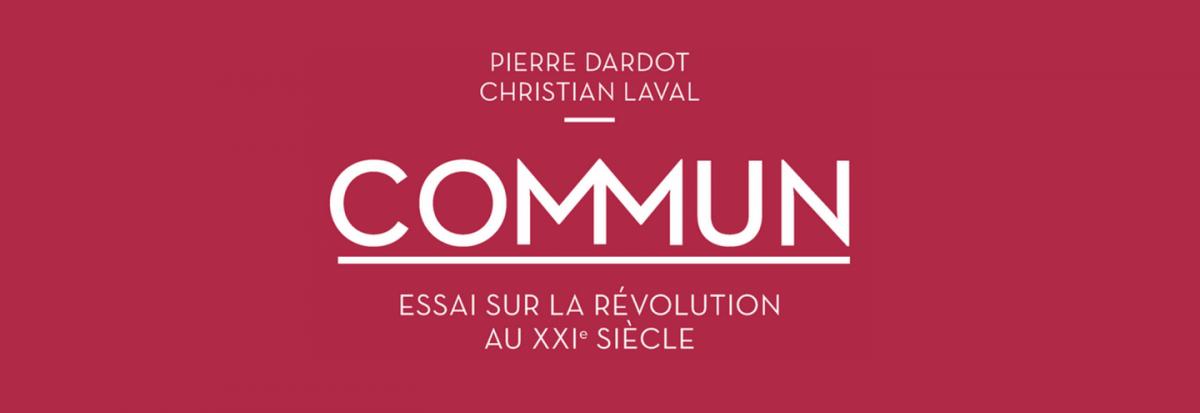 Commun : Essai sur la révolution au XXIe